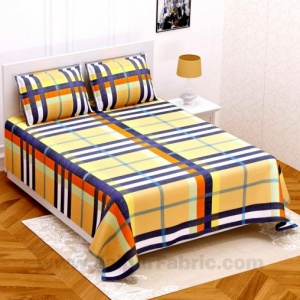 Check Pattern Super Soft Double Bedsheet