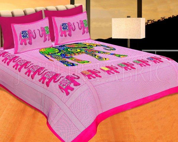 COMBO25 - Set of 3 Double Bedsheets