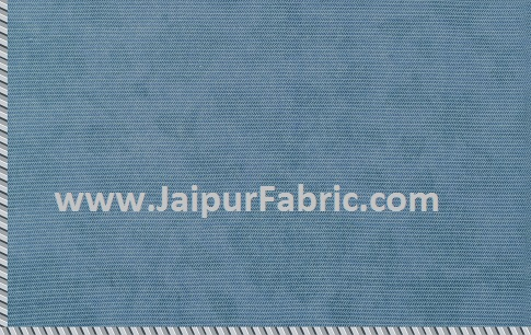 Pure Cotton Blue Jaal Pattern Reversible Double Bed Dohar