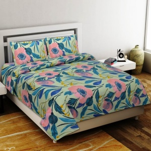 Delicacy Premium Poly Cotton Double Bedsheet