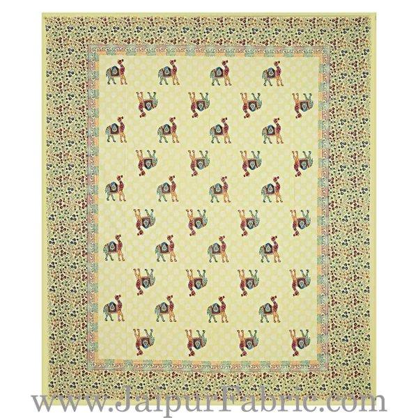jaipur Razai Double Bed With Satrangi Camel Pattern Combo Pack