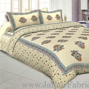 jaipur Razai Double Bed With Satrangi Floral  Pattern Combo Pack