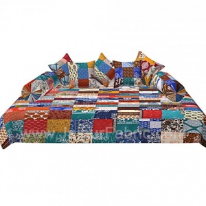 Colorful Patchwork Royal Diwan Set