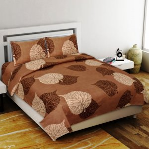Gentle Feel Premium Poly Cotton Double Bedsheet