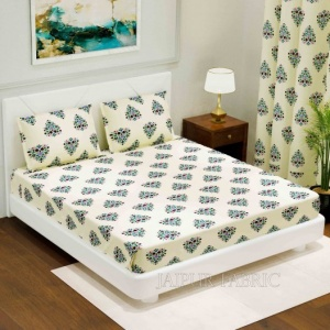 Beautiful Bouquet King Size Double BedSheet
