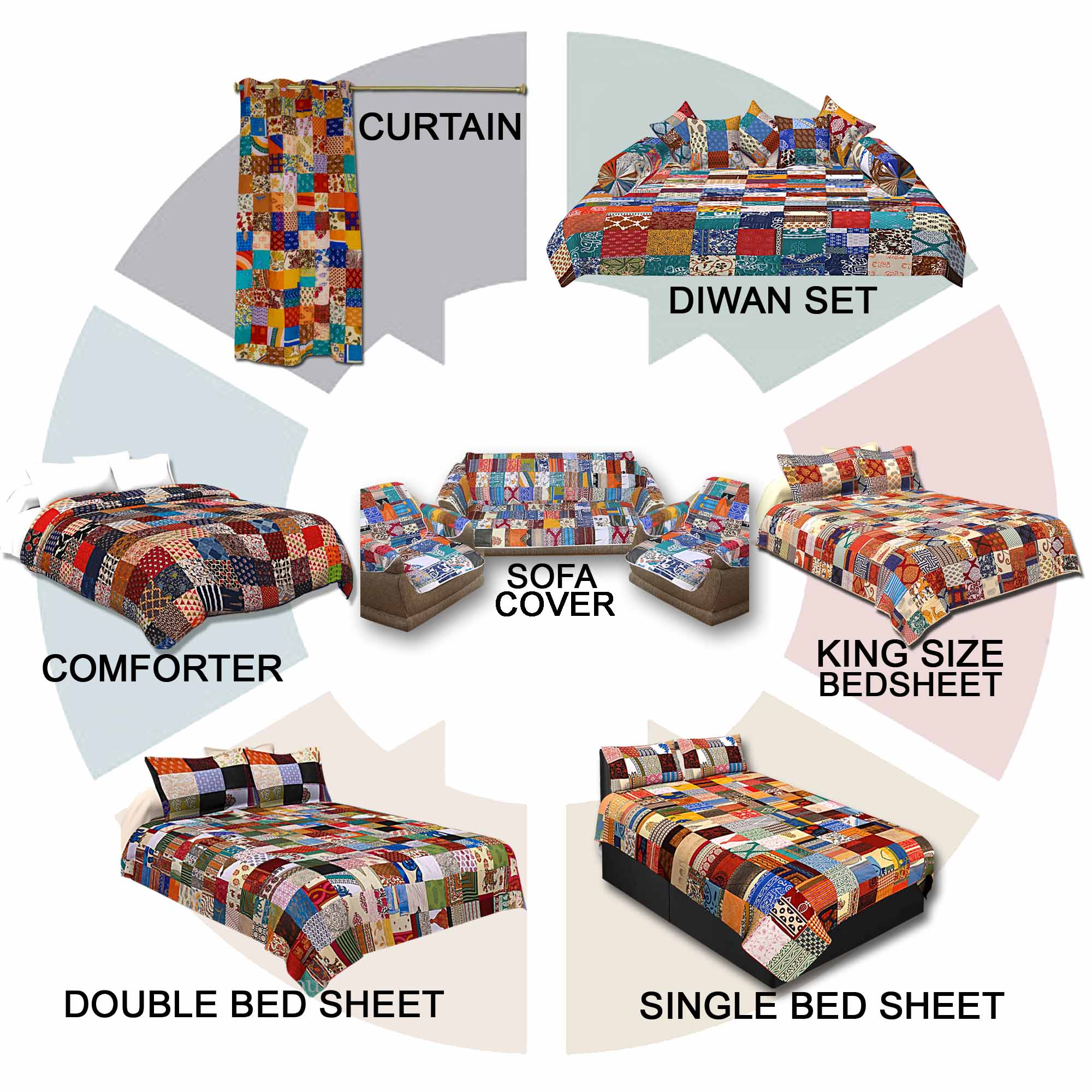 Complete Home Makeover Patchwork Combo100