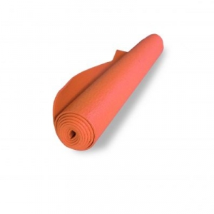 Orange 6 MM Thick Anti Skid/Non Slip Yoga Mat