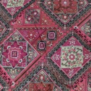 Multi Color Rangoli Print Cotton Scarf
