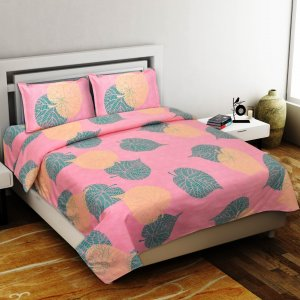 Soft Dove Premium Poly Cotton Double Bedsheet