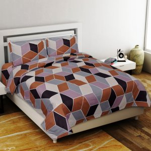 Tender Touch Premium Poly Cotton Double Bedsheet