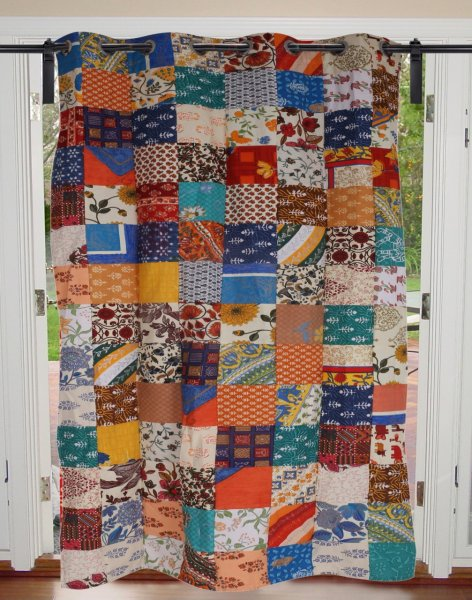 Colorful Patchwork Royal Curtain
